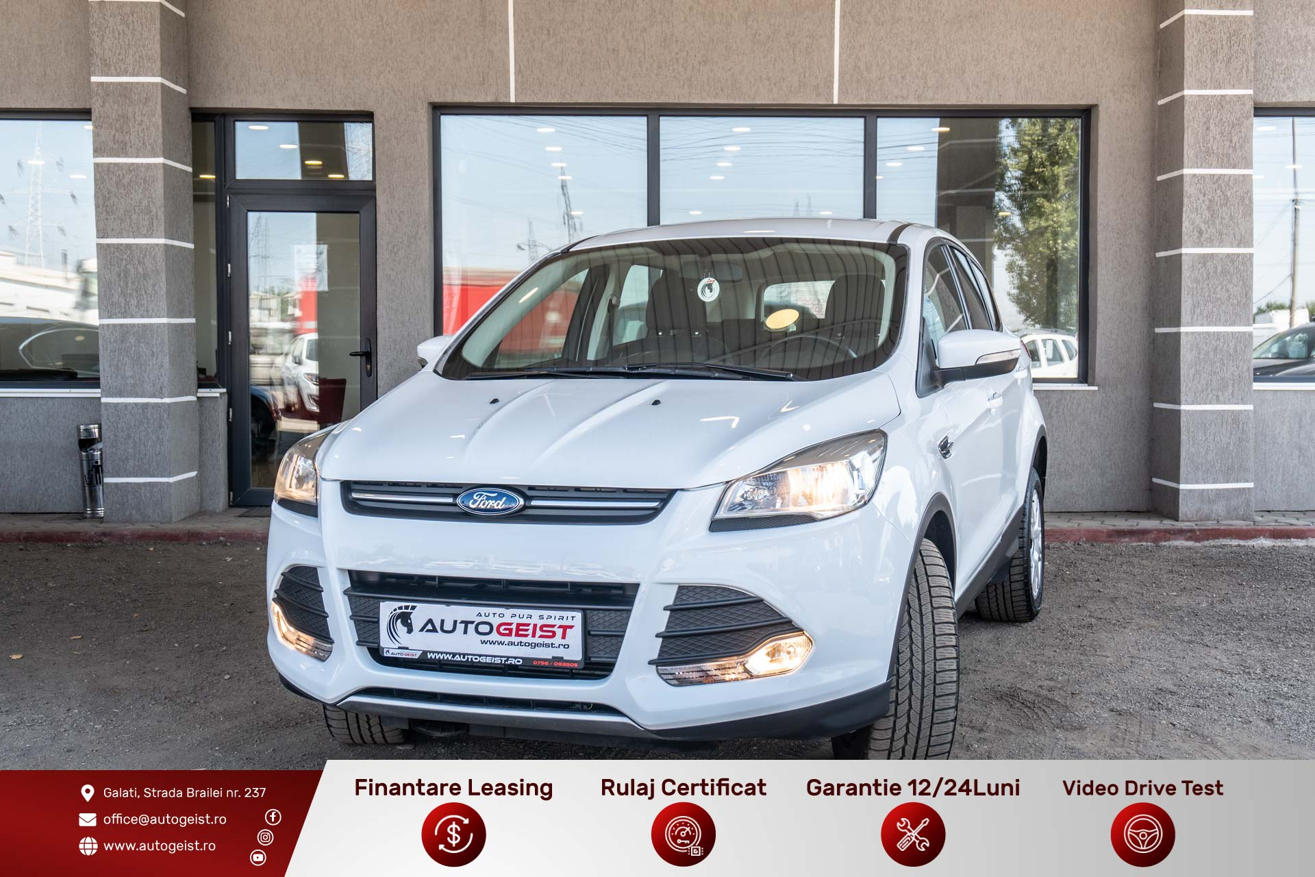 Ford Kuga 4×4 – Trend 4WD