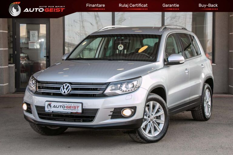 VW TIGUAN dsg 4motion